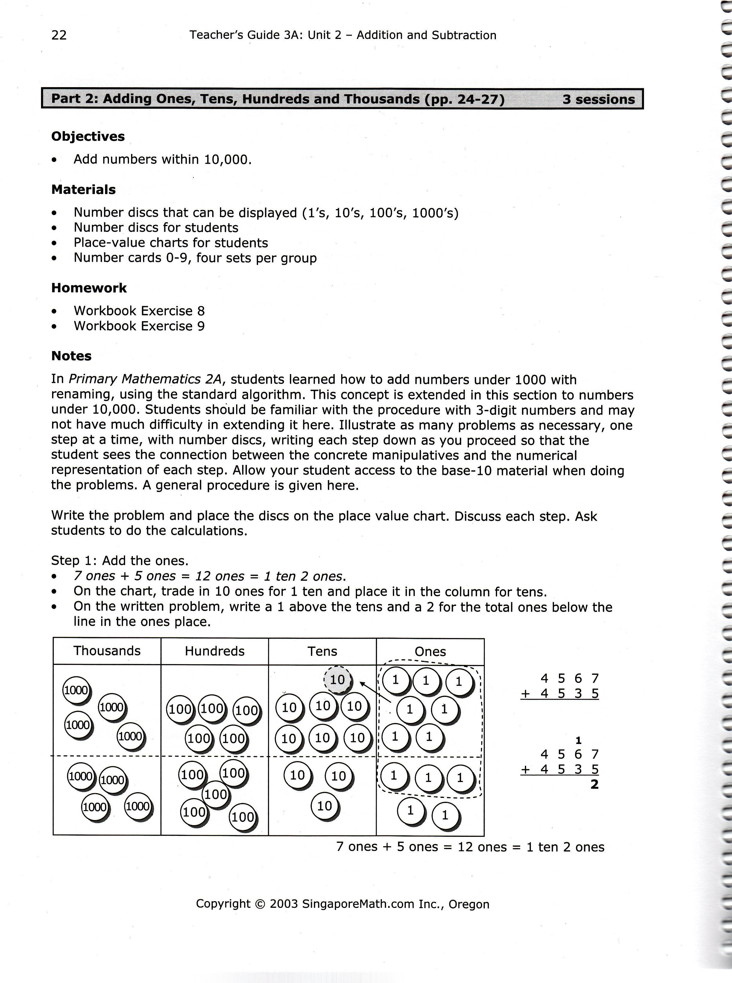 Comparing Singapore Math Materials: Teacher\'s Guides ...